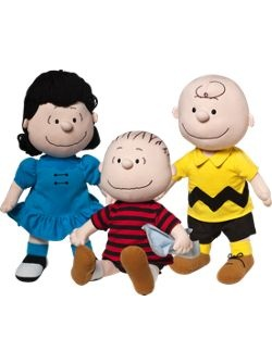Peanuts Dolls available at The Vermont Country Store