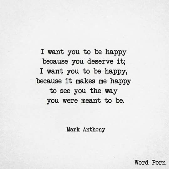 I still want you to be happy. That's all I've ever wanted. I think what we had was the closest thing to happiness you'll ever find. Even though you broke my heart that's still what I want.