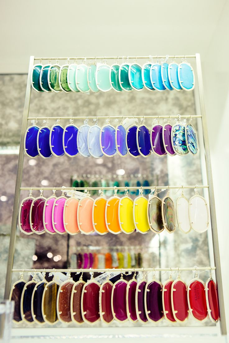 rainbow of kendra scott earrings