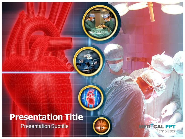 cardiac surgery template http://wwwdicalppttemplates, Modern powerpoint