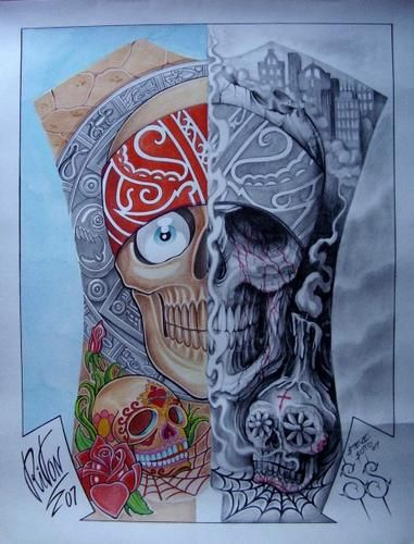 ARTWORK STEVE SOTO & RITON TATTOO