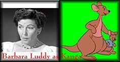 *BARBARA LUDDY  voices KANGA ~ Winnie The Pooh