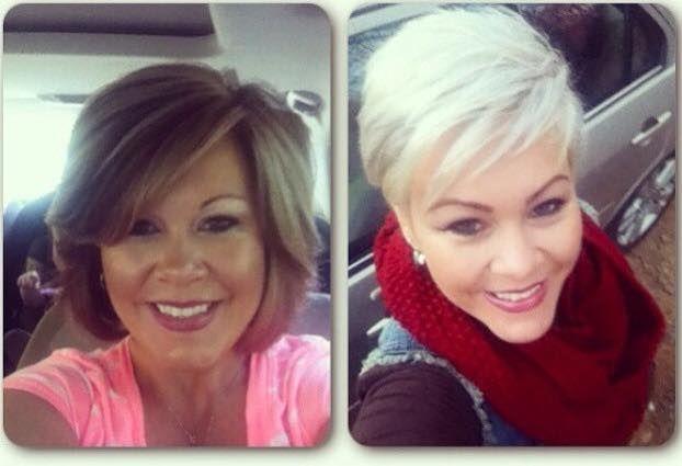Sprankelende transformaties van langer haar naar kort voor dames die twijfelen om kort te gaan!