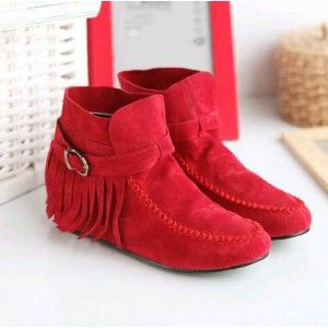 Boots Jungle Merah