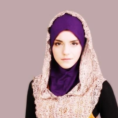 Emma Watson in Hijab!!   Mashallah! So beautiful!  But why? Is she already converted to Islam? If so, Alhamdulillah.