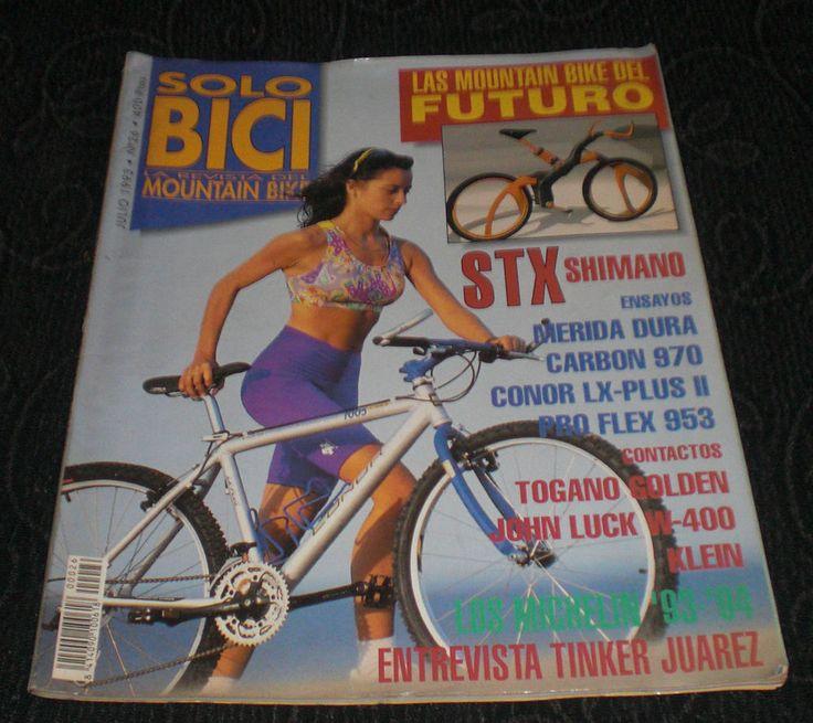 Revista Ciclismo Solo Bici Eurobike N 26 Julio 1993 - 93 Mountain Bike Shimano