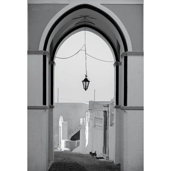 """""""Hanging Lamp, Santorini"""""""