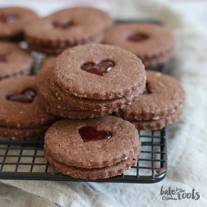 Chocolate Spitzbuben | Bake to the roots
