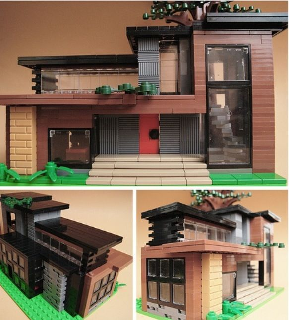 Lego Modern House Part 36