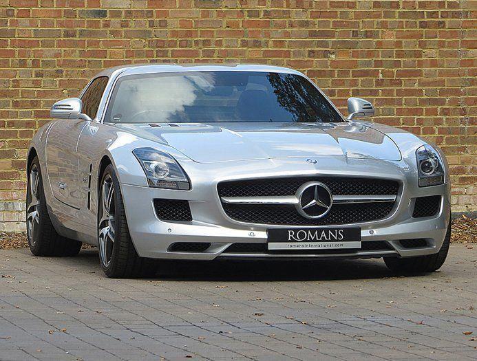2010 60 Used Mercedes Sls Amg Iridium Silver