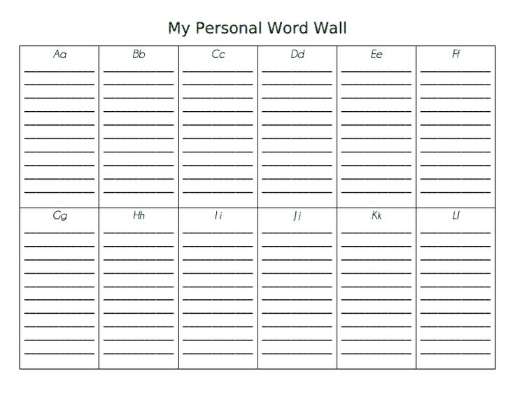 My Personal Word Wall.pdf - Google Drive