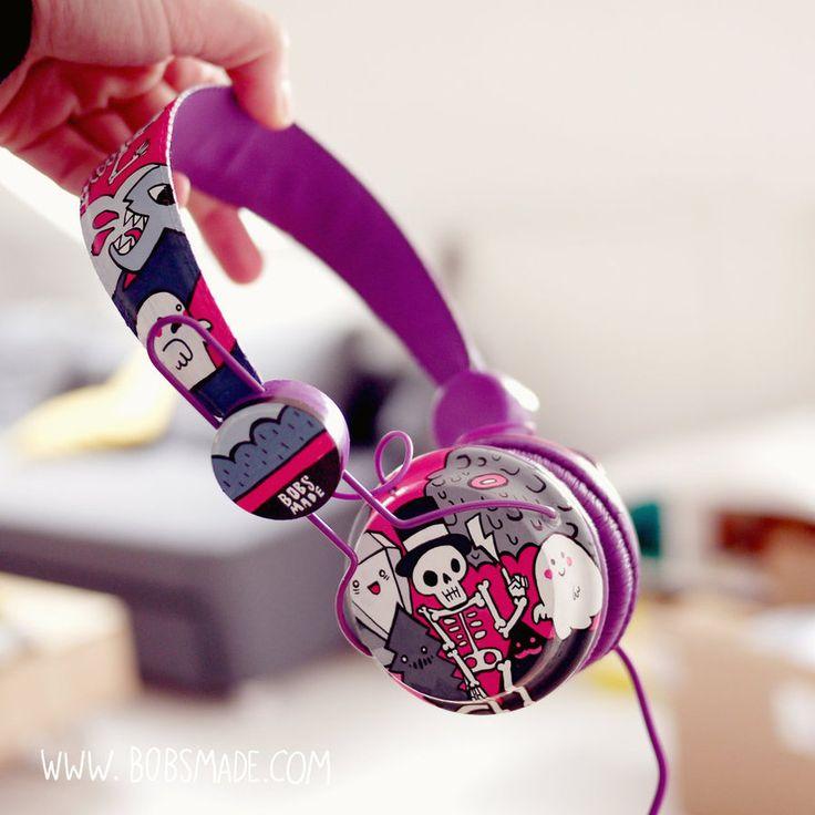Monster Headphones by Bobsmade.deviantart.com on @DeviantArt