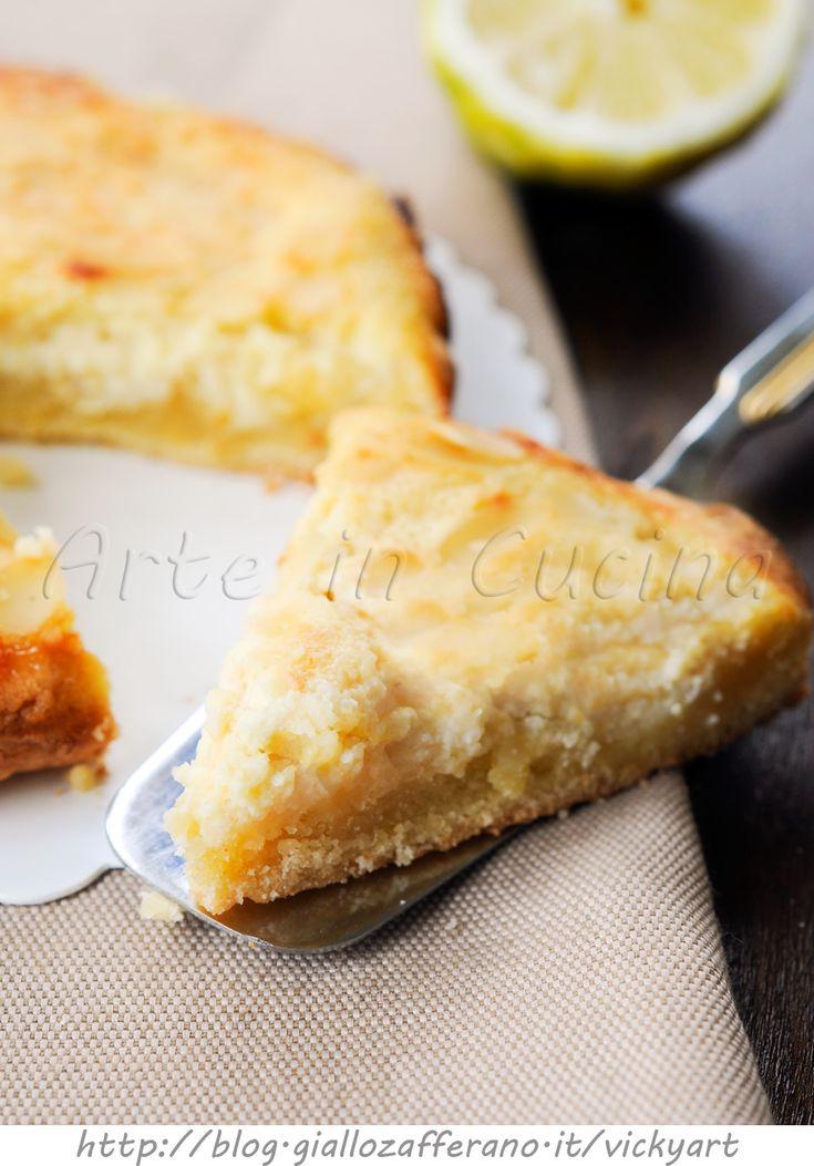 Crostata paradiso al limone con bimby o senza vickyart arte in cucina