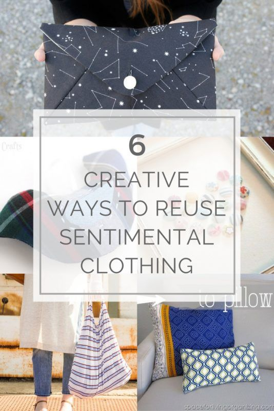6 Creative Ways to Reuse Sentimental Clothing