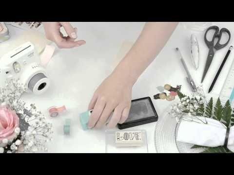 DiY Instax | Carte de souhait Instax ( version longue) - YouTube
