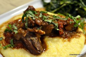 Rustic Italian Braised Boneless Short Ribs - Chew Nibble NoshChew Nibble Nosh