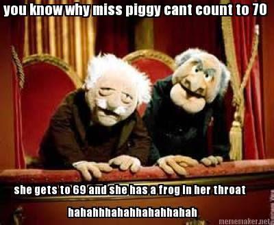 Funny adult muppets meme - http://jokideo.com/funny-adult-muppets-meme/ #adulthumor #funny #jokes