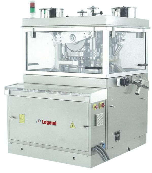 One of the best Legend's pharma machine name  Penta Press is an Advanced High Speed Tableting machine for large batch production.