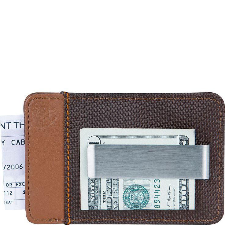 Buy the Travelon Safe ID Accent Money Clip Wallet at eBags - When you only want to carry the bare essentials, this money clip wallet from Travelon is all you'll