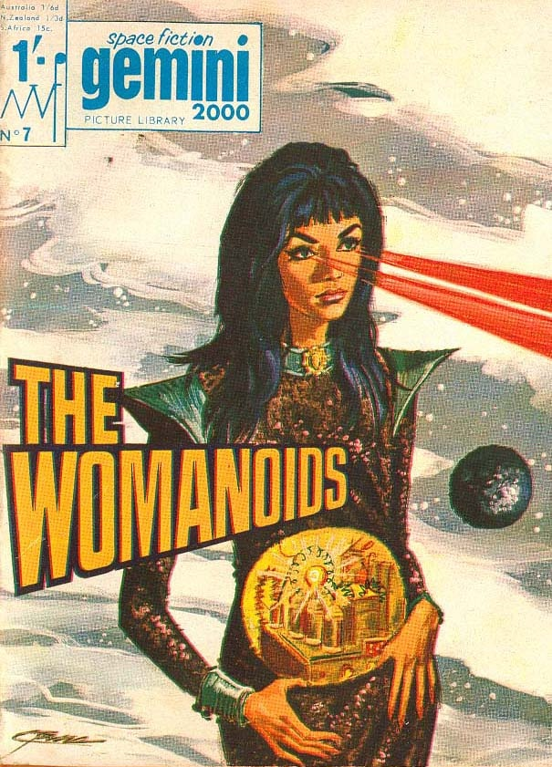 Space Fiction Gemini Picture Library: The Womanoids.