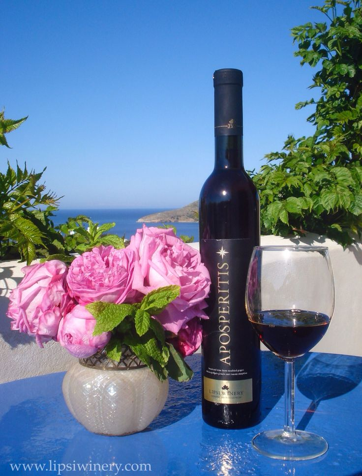 Aposperitis, our signature wine made from sun-dried Fokiano grapes.