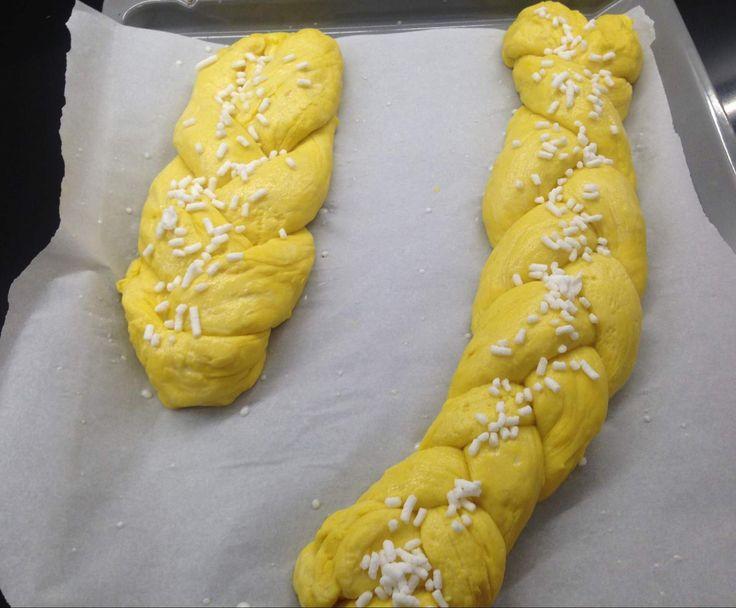 Ricetta TRECCIA PANE DI ZUCCA pubblicata da MATILDA09 - Questa ricetta è nella categoria Prodotti da forno dolci