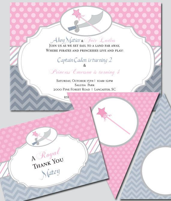 26 best images about princess dragon party – Princess and Knight Party Invitations