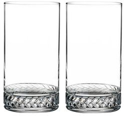 Braid Highball Glasses (Set of 2)