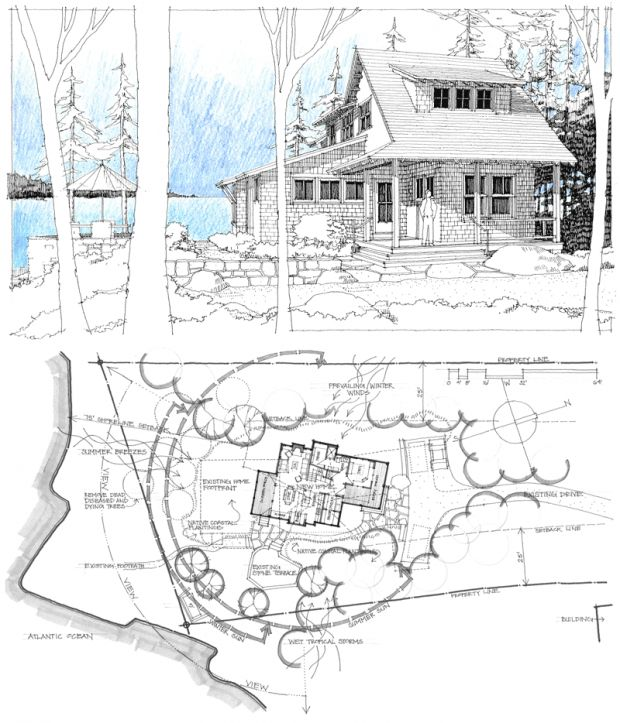 Whitten Architects - Sketches by Russ Tyson