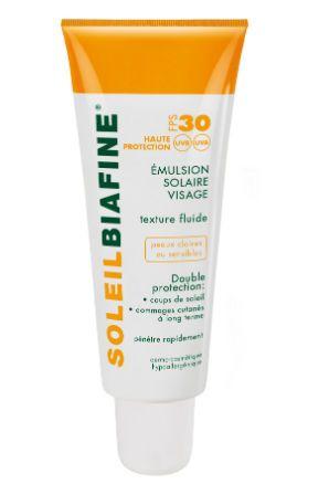 Crème Solaire 2015 : Crème solaire Emulsion Solaire Visage Biafine