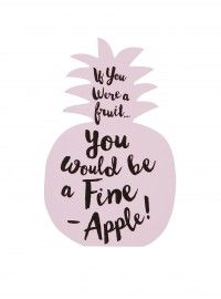 'If You Were A Fruit...' Gift Card