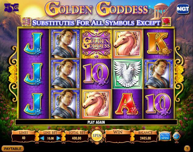 Golden Goddess - http://www.777free-slots.com/free-golden-goddess-slot-machine-online/