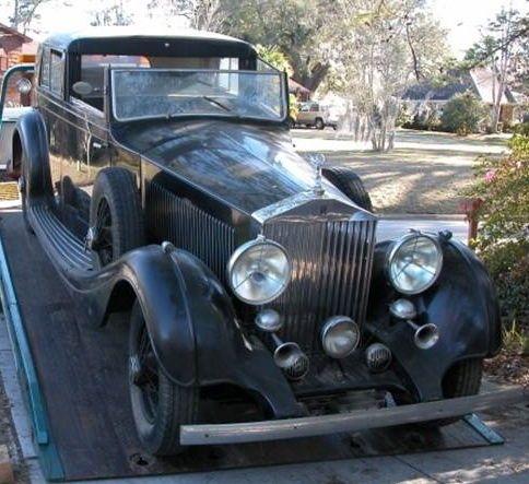 1937 Rolls-Royce  25/30 Hooper Sedanca de Ville Convertible