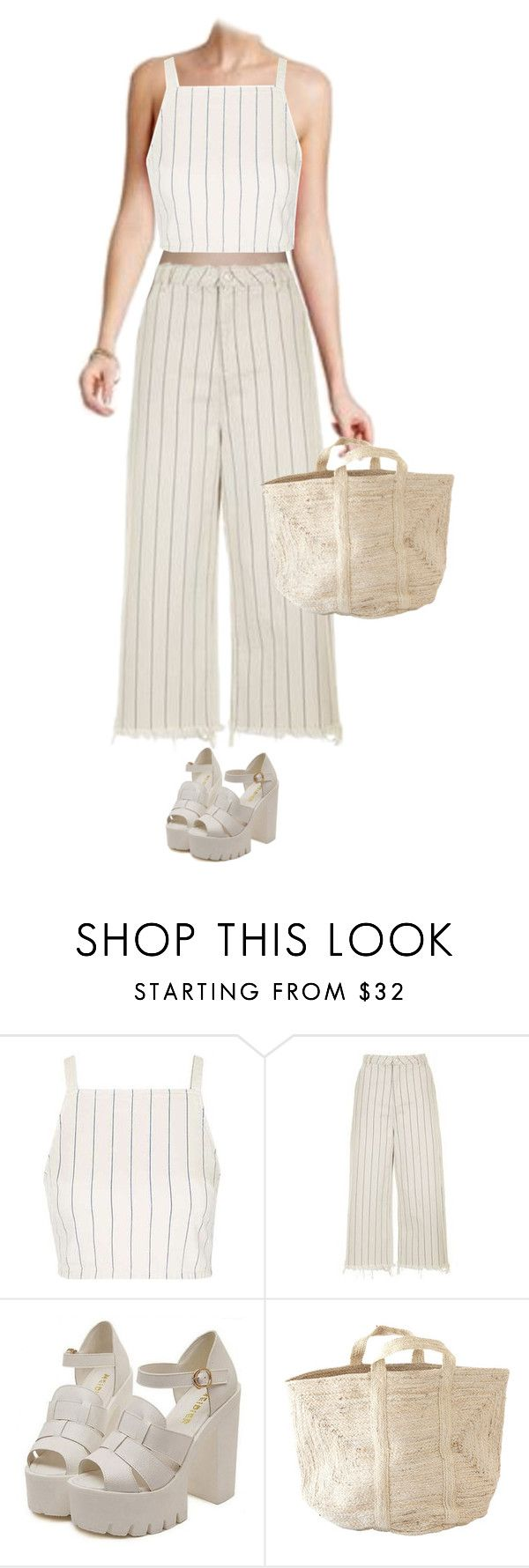 """""""Picnic"""" by clarastenfeldt ❤ liked on Polyvore featuring Topshop"""