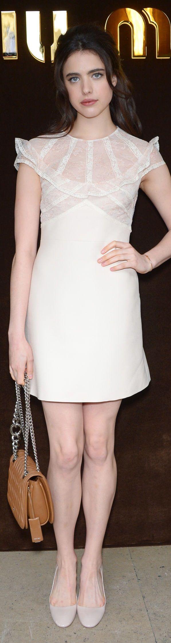 Margaret Qualley - Miu Miu Fashion Show