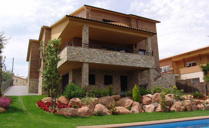Mejores 16 im genes de fachadas de piedra para exteriores - Piedra fachada exterior ...