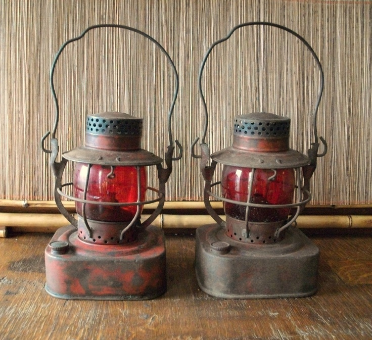 Reserved For Jacquidowd Rustic Lighting With Vintage Rustic: RESERVED For John OH//////--Dietz Railroad Lantern With