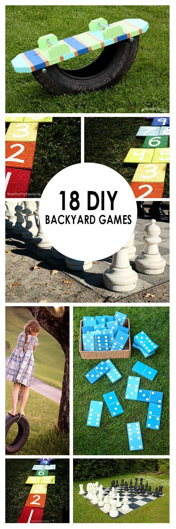 Juegos 18 de bricolaje del patio trasero: