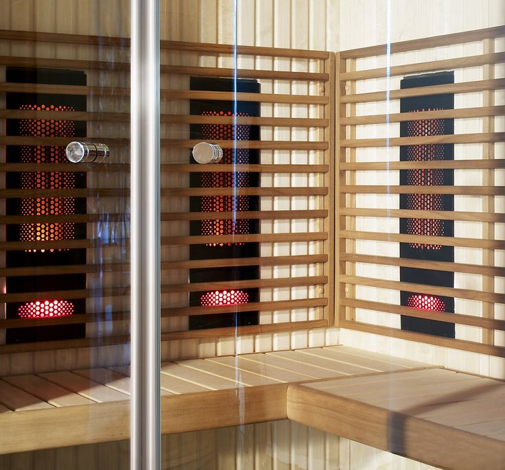 If Radiant infrared cabin is too small for your family equipp Harvia indoor sauna with infrared radiators. Indoor saunas are easy solutions for family homes.