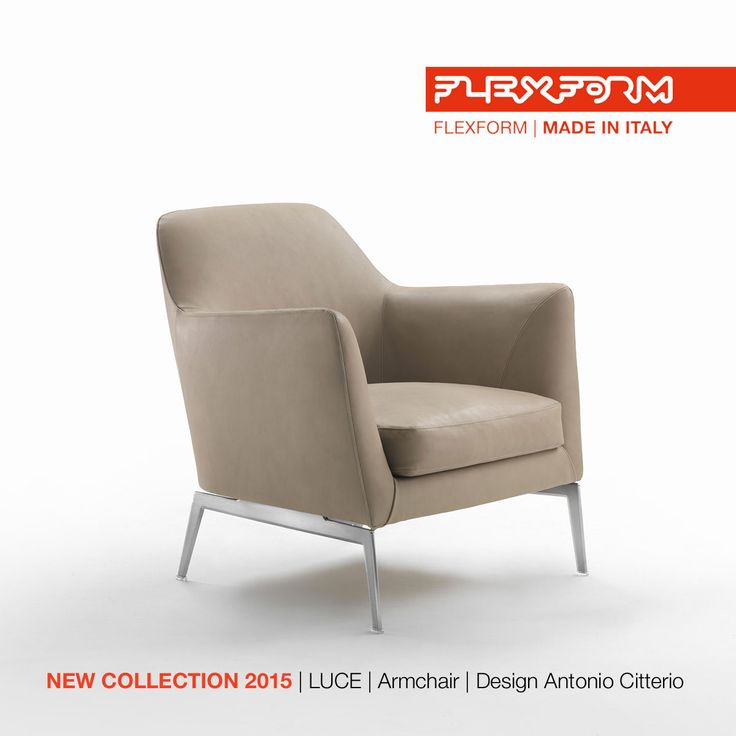 FLEXFORM NEW LUCE #ARMCHAIR, designed by Antonio Citterio. Find out more on www.flexform.it