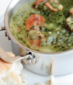 Emeril's New-style Caldo Verde | Recipe | Kale, Pepperoni and Potatoes