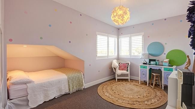 The children's bedrooms have been themed for fun. Picture: Paramount Studios
