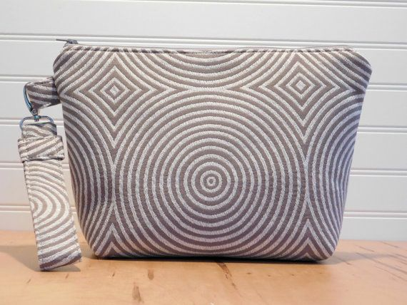 Grey Clutch Bag Silver Evening Bag by BerkshireCollections on Etsy