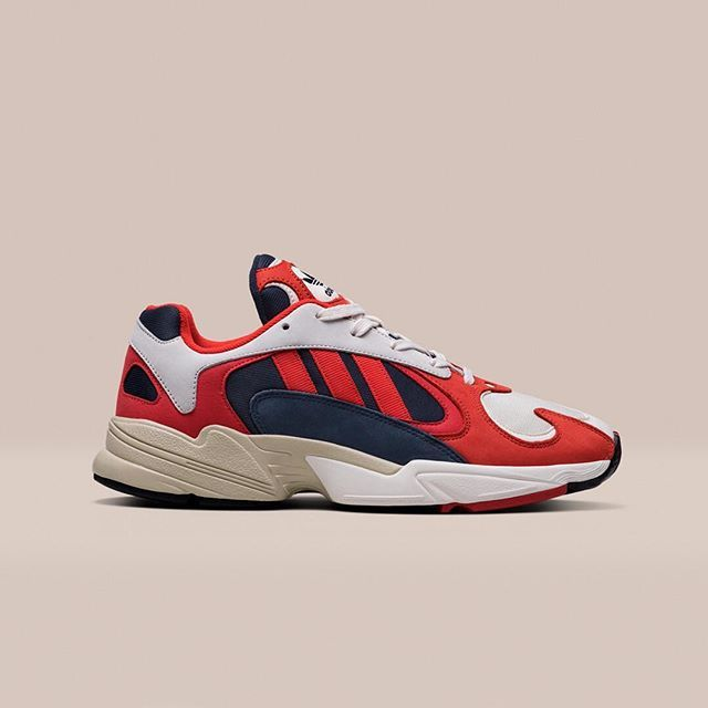 big sale ed70d 17f64 Taking inspiration from the 90 s archive,  YUNG1 is a unique silhouette  featuring bold colorways and classic suede to form a distinctive runner. In   footish ...
