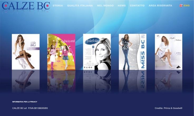 Web Site Calze BC