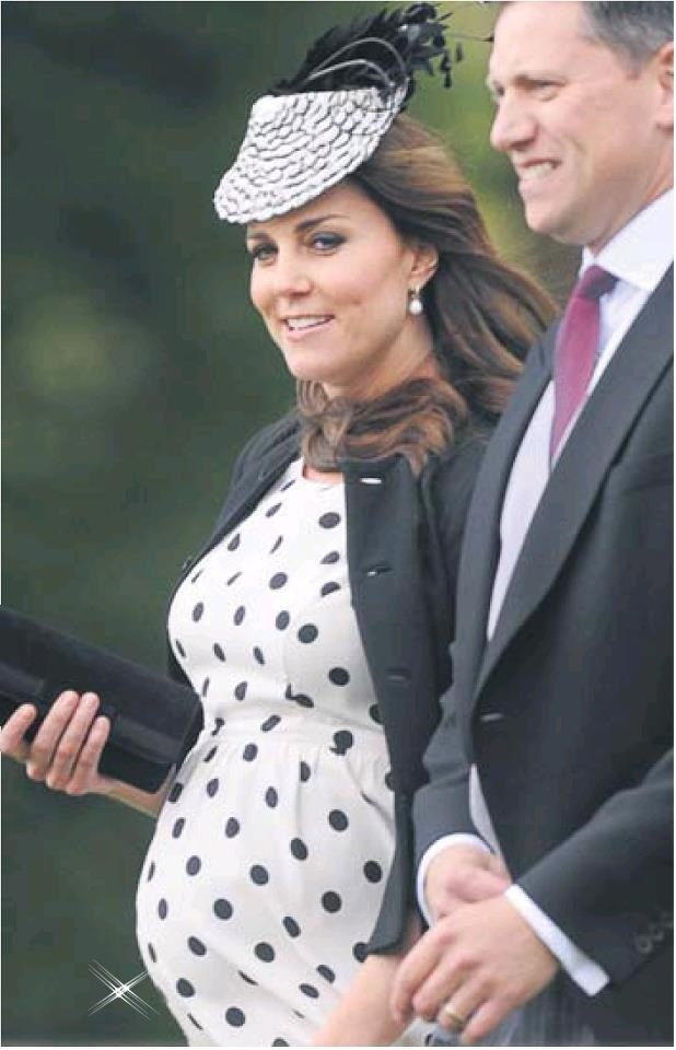 Kate Middleton attended their friends' wedding in Oxfordshire on 11 May 2013