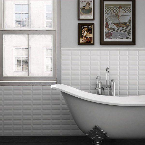 18 besten Weiße Subway Fliesen Bilder auf Pinterest | Badezimmer ...