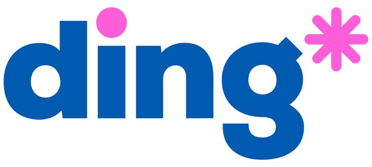New Name, Logo, and Identity for ding* by DixonBaxi