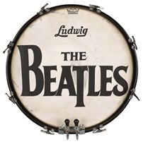 The Ludwig Beatles Drum Head Sells for $2,125,000.00