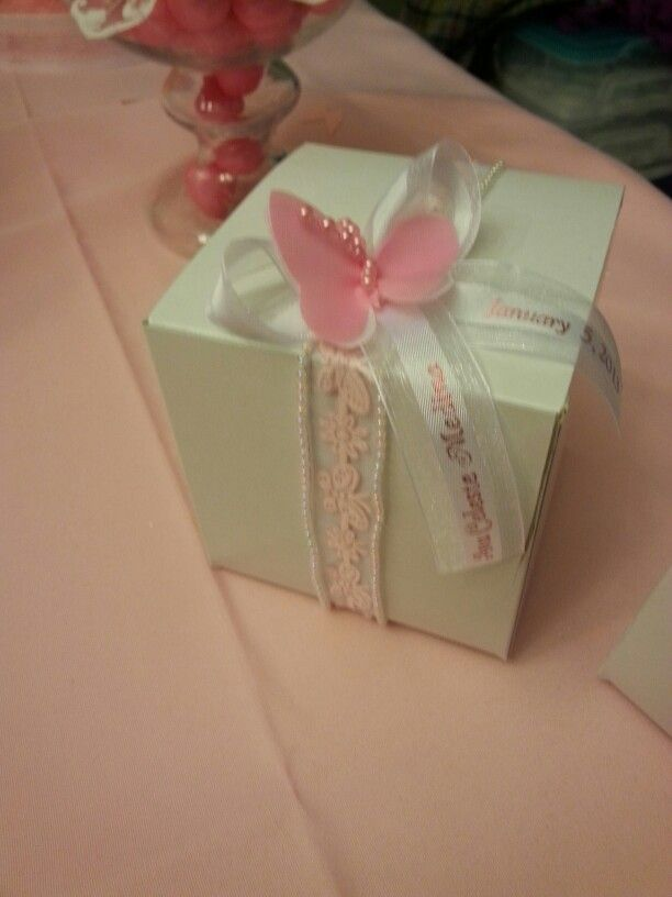 Pink Butterfly Adult Party Favors